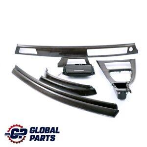 BMW 3 Series 1 E90 E91 LCI Set Trim Dashboard Console Strip Bamboo Woodgrain