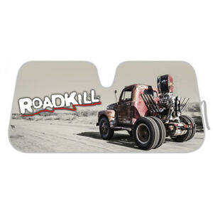 Details about Motor Trend Roadkill Car Windshield Sun Shade for Auto SUVs  Van Trucks