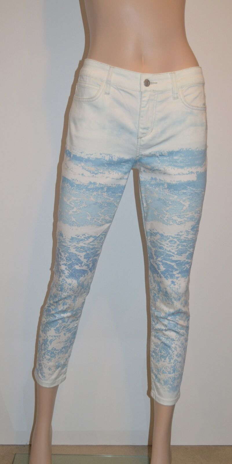 New Joe's Jeans Skinny Crop Ocean Cropped sz 24 Capri's Light Wash