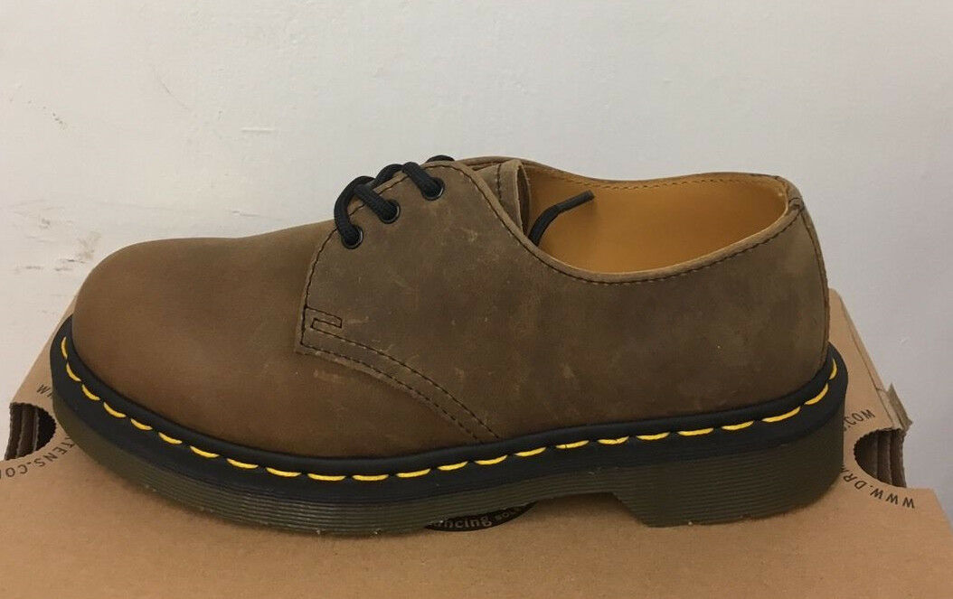 DR. MARTENS 1461 TAN ICECAP  LEATHER  Schuhe SIZE UK 3