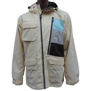 Quiksilver-MARKKU-KOSKI-Jacket-Mens-Size-M-Medium-Yellow-Snow-Snowboarding-Ski
