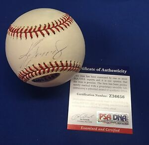 Ken Griffey Jr Signed Official Major League Baseball MLB *Mariners *Reds PSA