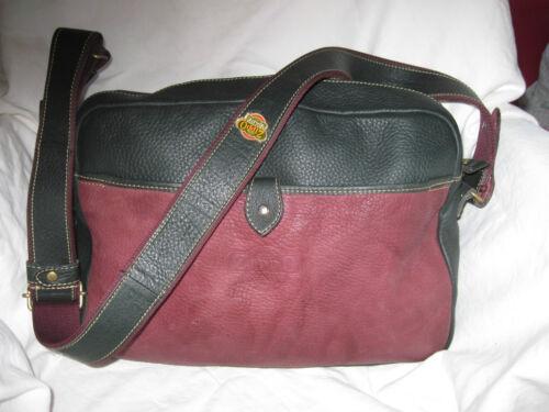 Vintage Tbeg Cuir A4 Bag zippo En Authentique À Main Sac 6q4IFI