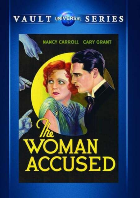 The Woman Accused DVD (1933) - Nancy Carroll, Cary Grant, Paul Sloane