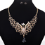Fashion-Elegant-Women-Rhinestone-Crystal-Choker-Bib-Statement-Pendant-Necklace thumbnail 50