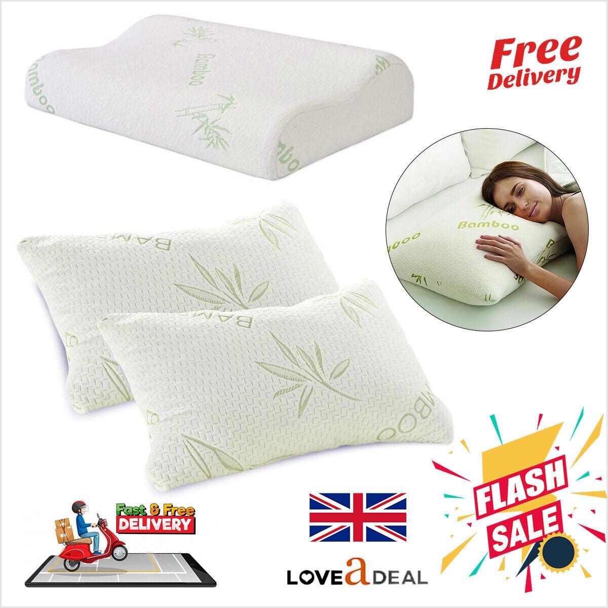 Bedeck Memory Foam Pillow 48 X 74cm for