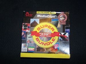 MedaiClips-10-CD-ROM-Set-of-Royalty-Free-Photos-for-Macintosh-or-PC
