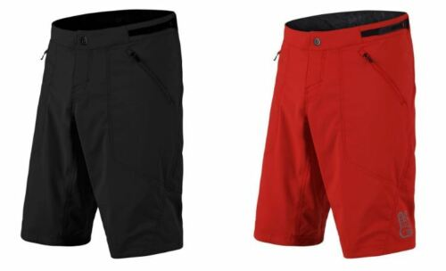 2018 Troy Lee Designs Solid Shell Skyline Mountain Bike Short Red Black Cycling