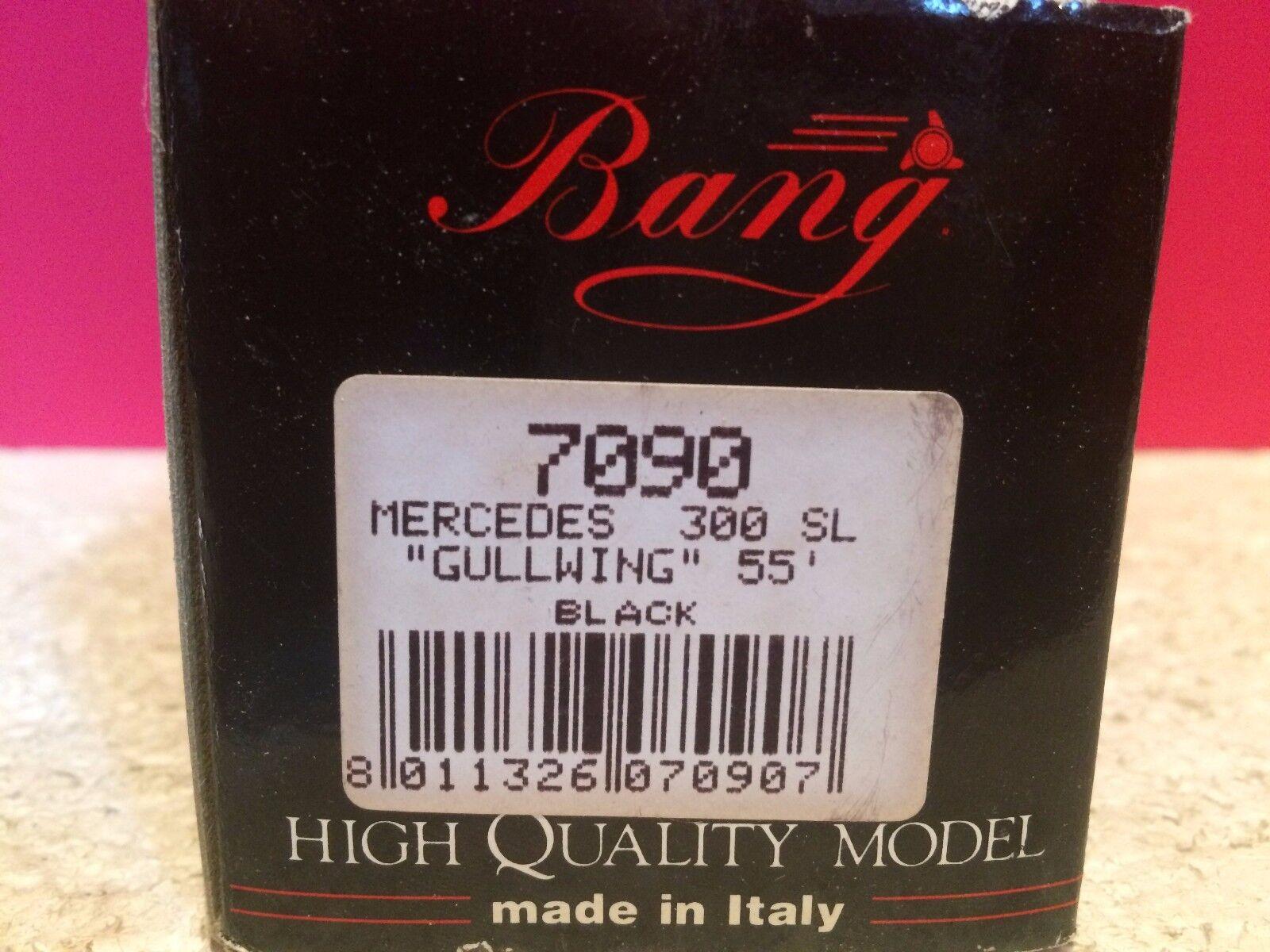BANG SUPERBE MERCEDES 300 SL GULLWING 1955 NEUF NEUF NEUF EN BOITE 1 43 O4 ee7868