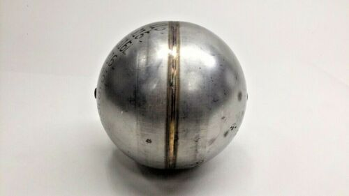 """Bore Unthreaded Details about  /Stainless 4-1//2/"""" Ball Float Round 316L SS with 3//16/"""" 0.20"""