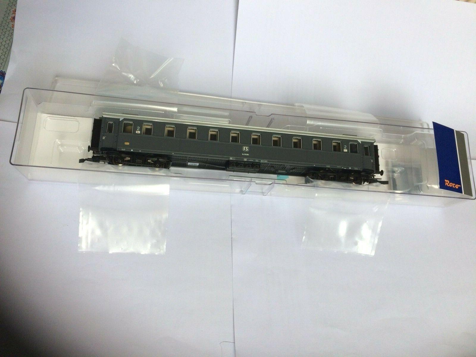 Roco 74602 - Carrozza FS Serie 30000  2  classe epoca IV