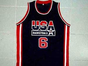 Image is loading LEBRON-JAMES-TEAM-USA-BASKETBALL-JERSEY-QUALITY-SEWN- 3a6935210ec9