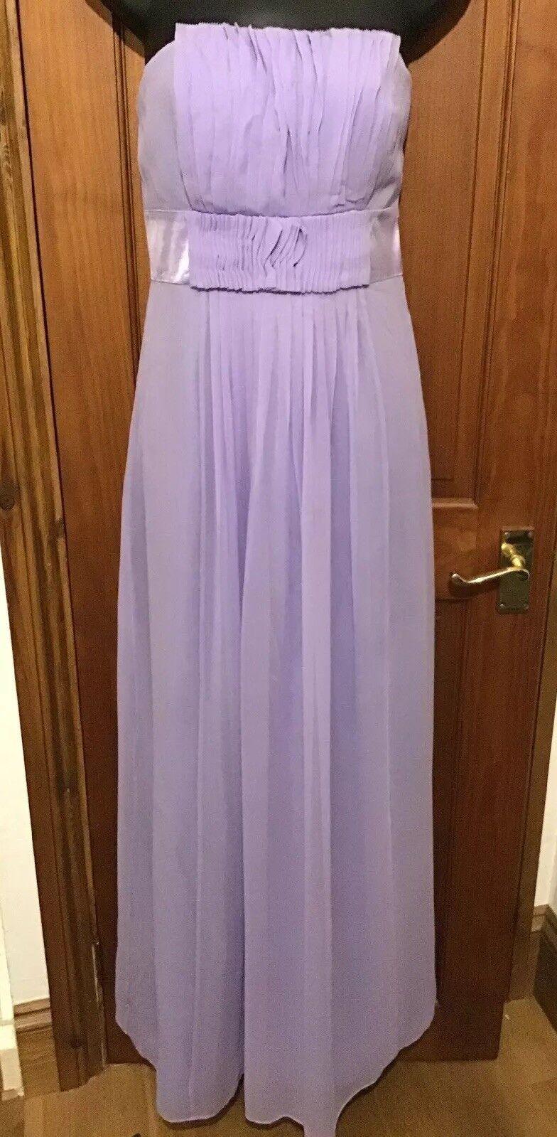 COAST Beth Beth Beth Maxi Dress purplec % SILK Bridesmaid f23187