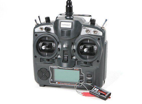 Turnigy 9X 9Ch Trasmettitore & Ricevitore iA8 modalità 2/RC Racing DRONE AEREO UK
