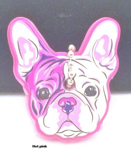 Clearance Adorable French Bulldog Hot Pink Key Cap Cover so cute !