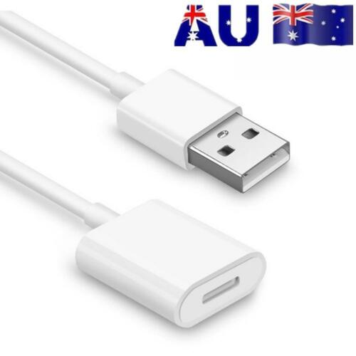 AU 2Pc Female USB Charging Adapter Charger Cable For Apple Pencil Capacitive Pen