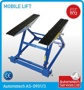 Mobile Scissor Lift Tilting Car Lift Ramp Adjustable Width