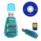 USB Cellphone Standard SIM Card Reader Cloner Copy Writer SMS Backup GSM CDMA+CD
