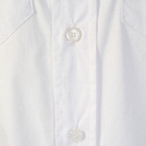 demina da uomo senza maniche di marca aderente camicie bianco Own brand-arnie