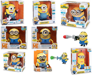Despicable Me Minions Talking Singing Dancing Minion Action Figures- New&Sealed