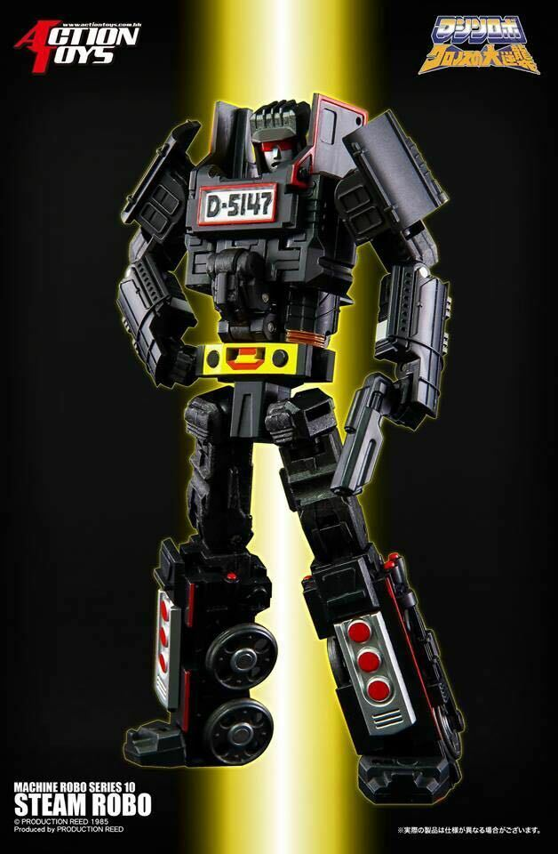 Action Toys MR10 Steam Robo,in stock!
