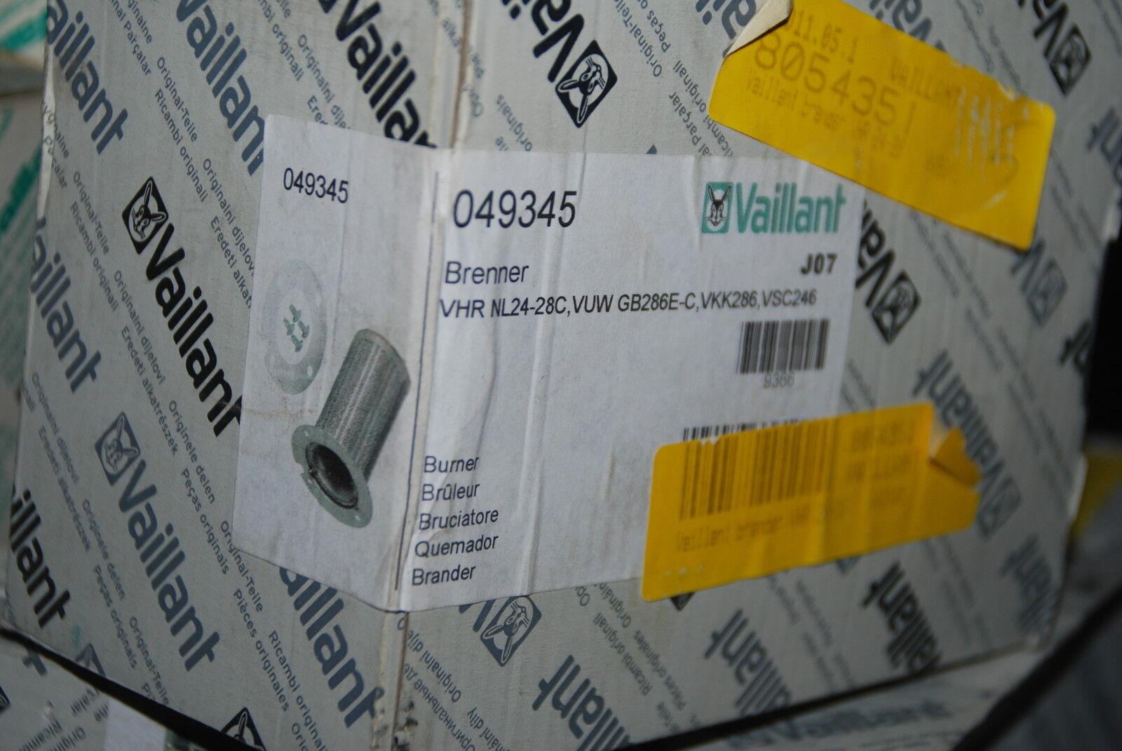 VAILLANT 049345 04-9345 BRENNER VHR NL24-28C VUW GB286E-C VKK286 VSC246 BURNER