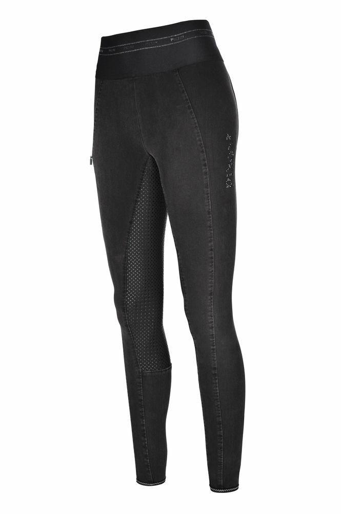 Pikeur Grip Jeans Reithose Ivana Athleisure in schwarz