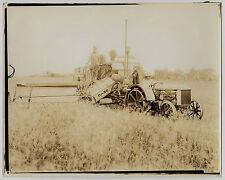 "USA MÄHDRESCHER ""CASE"" HARVESTER Fort Bragg NC * Vintage 1930s Archives' Photo"