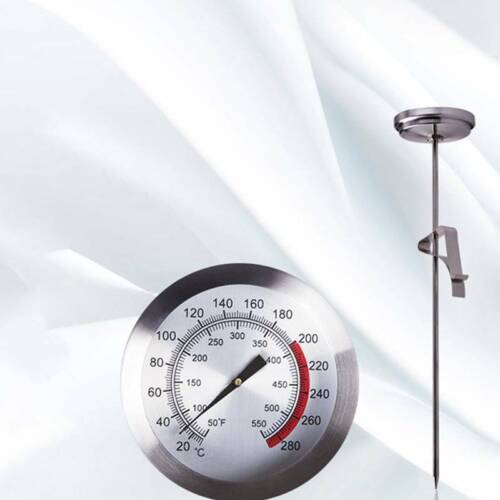 40cm Deep Fry Thermometer with Clip Oil Fried Cooking Probe Candy Meat Perfect