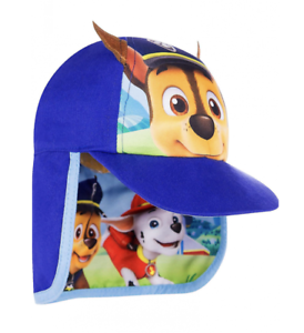 Paw Patrol Chase Boys Blue Legionnaire Holiday Sun Hat Age 1//3 Years New
