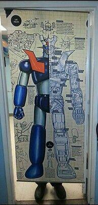 "Mazinger Z Big wall scroll 70""x29"" Tranzor Z super robot wars anime Go Nagai"