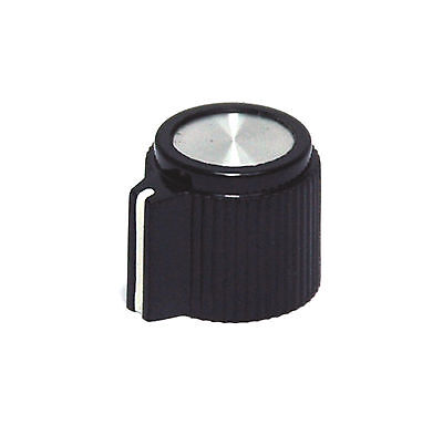 10pc Plastic Bakelite Round Srew type Knob RN-206F Size=φ13.4x12.2mm Hole=φ3.2mm