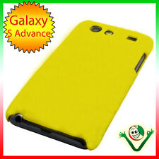 Custodia rigida GIALLA per Samsung i9070 Galaxy S ADVANCE back cover sottile