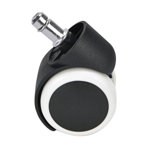 Universal Office Chair Caster Wheel Swivel Rubber Wood Floor Furniture Replace