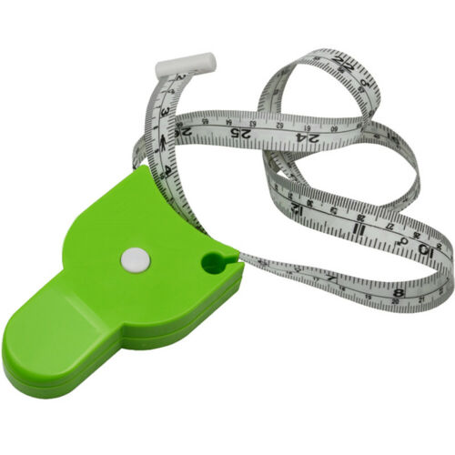 Retractable Body BMI Mass Index Measuring Tape Chest Waist Hip Ruler Healthy