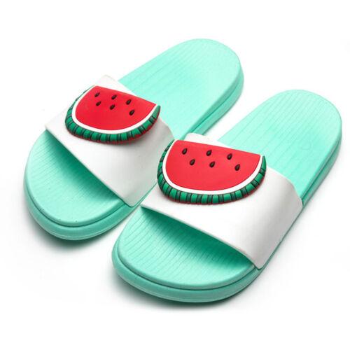 Women Summer Beach Flat Home Slipper Shoes Casual Fruit Sandals Flip Flop
