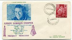 1963 Leroy Gordon Cooper Project Mercury Fourth American Orbit Canaveral Usa Circulation Sanguine Tonifiante Et Douleurs D'ArrêT