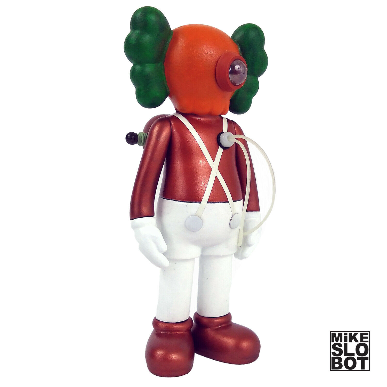 Mike Slobot Wonka Robot Sculpture Soubi Kidromot KAWS 5YL Högsta oompa loompa