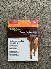 Sentry Worm X Plus 7 Way Dewormer for Dogs Over 25 Lbs 2 Pak