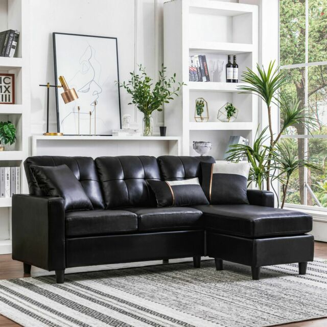 Small E Sectional Reclining Sofa