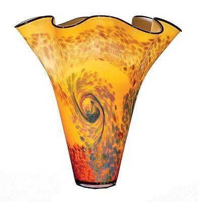 Ok Lighting Ok-4193V 19.5Inh Vase Burgundy New