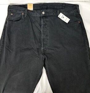 e71e7c7d8da NWT Mens Levis 501 Pleated Crop Jeans $89 52436-0001 Black Sizes 38 ...