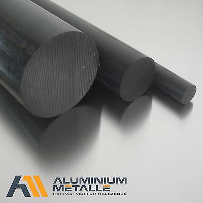 50cm Polyamid PA6 Rundstab schwarz /Ø 50mm L: 500mm Rundmaterial Zuschnitt