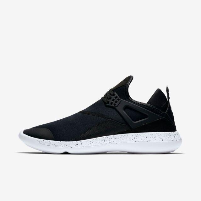 7de96dab06 Nike Air Jordan Fly 89 IV 4 Black White Men Lifestyle Shoes SNEAKERS ...