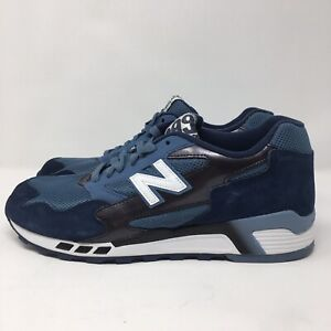 new product 9e172 68ae8 Details about New Balance 660 ML660PRA Men's Blue Suede Running Shoes Sz 10  Rare