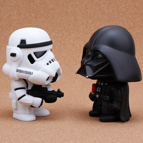 """Guerra De Las Galaxias Darth Vader /& Stormtrooper 10cm//4/"""" PVC Figure Niños Juguetes NAVIDAD Regalo S199"""