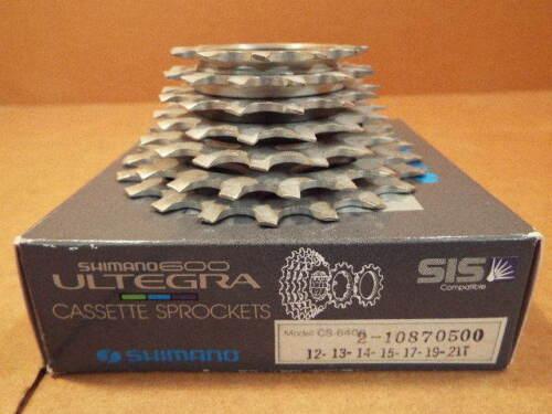 UG Cassette...7-speed//12x21 New-Old-Stock Shimano 600-Ultegra UniGlide