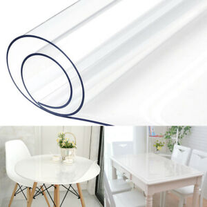 Waterproof-PVC-Clear-Table-Cover-Tablecloth-Transparent-Desk-Protector-Pad-Mat