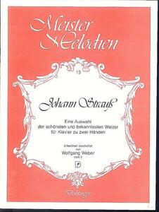 Johann-Strauss-Auswahl-der-schoensten-und-bekanntesten-Walzer-Heft-2