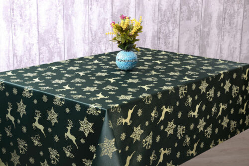 Rect Christmas Tablecloth SQR Napkins Oval Round,4 Stunning Colours